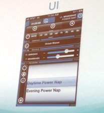 A very detailed mobile UI application (photo from Brian Katz's presentation at CITE 2013)
