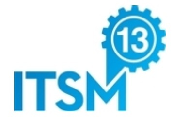 logo of the ITSM13 conference