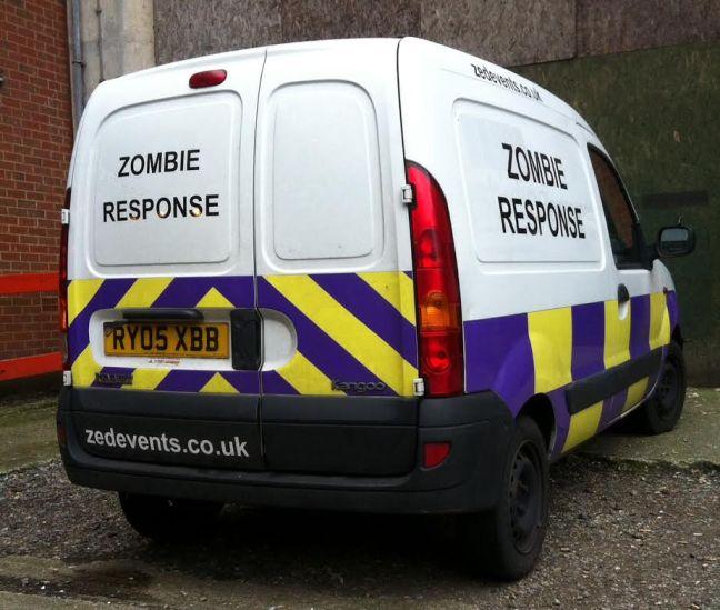 Zombie Response Van