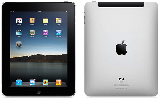 Ipad, front and rear